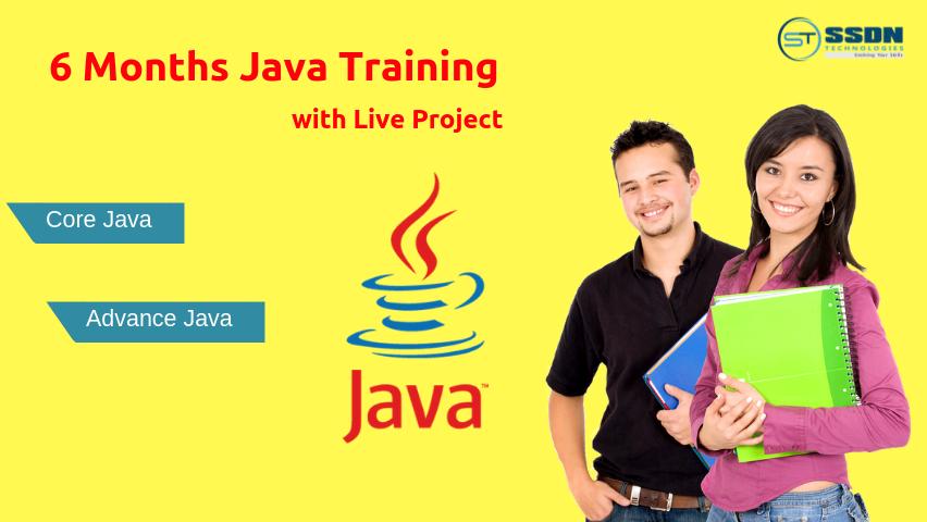 Java 6 Months Industrial Training