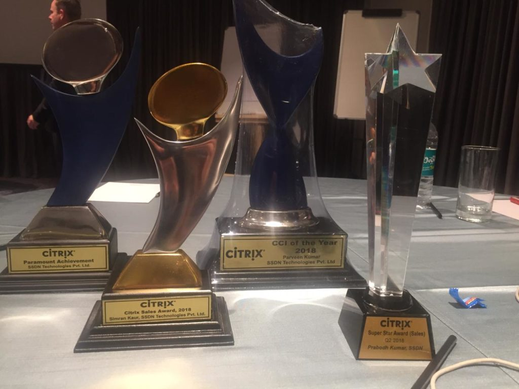 Best Citrix Training Award
