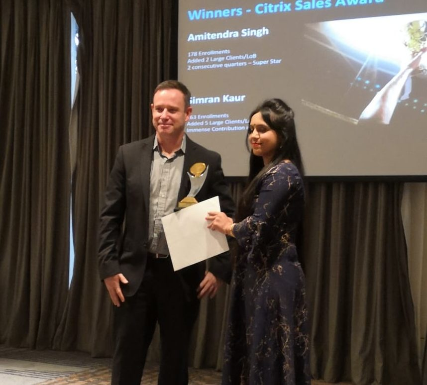 citrix training in india - citrix sale award