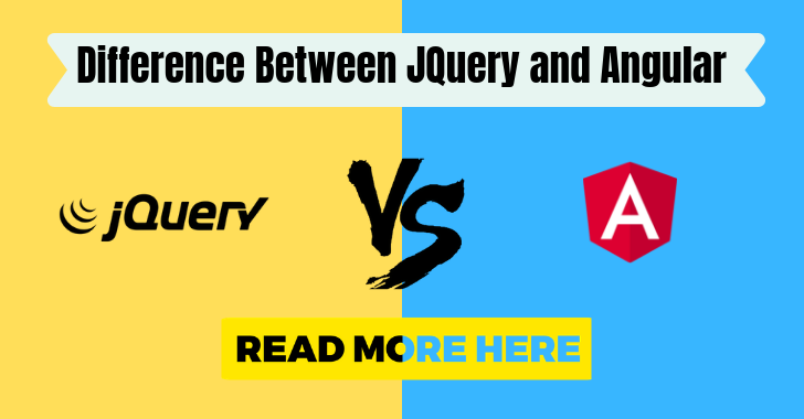 Jquery vs Angular