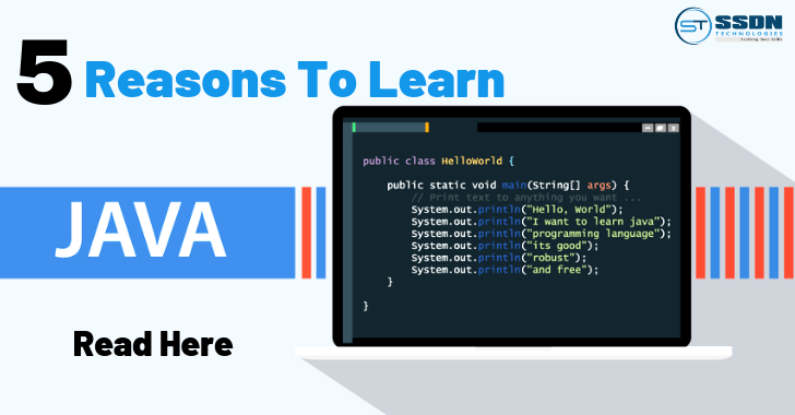 Top 5 Reasons to learn java