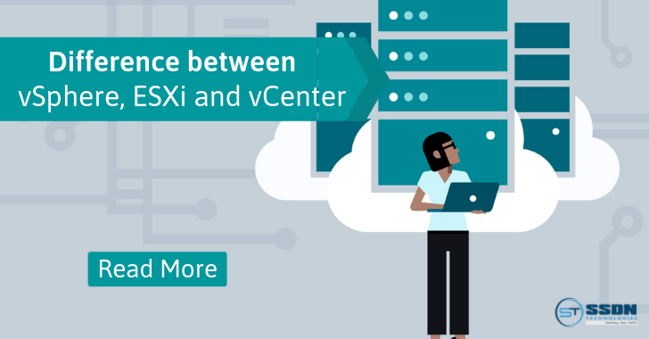 What is the Difference between vSphere, ESXi and vCenter