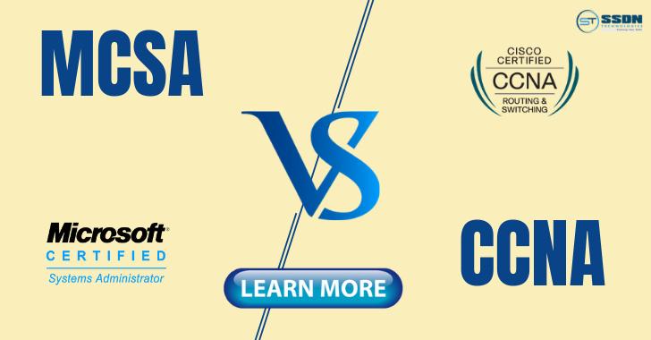 MCSA vs CCNA