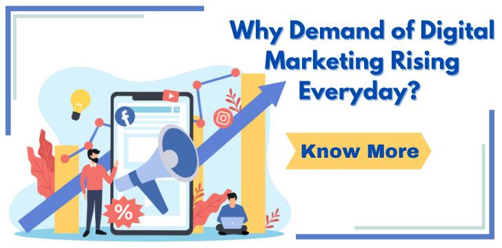 Demand of Digital Marketing